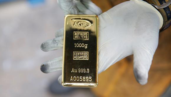Los futuros del oro en Estados Unidos bajaban un 0.3% a US$ 1,924.40 la onza. (Foto: Reuters)