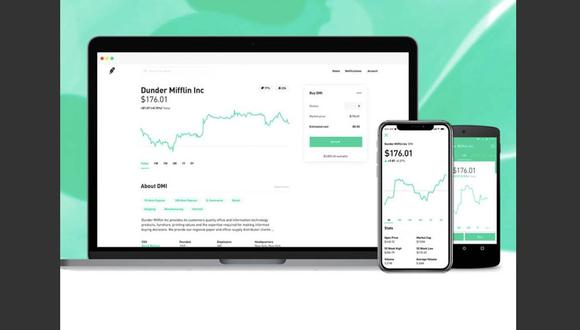Robinhood se vio obligada a recaudar rápidamente US$ 3,400 millones de sus inversores para mantenerse en el negocio y cubrir posibles márgenes de garantía en el futuro. (Foto: Robinhood/Facebook).