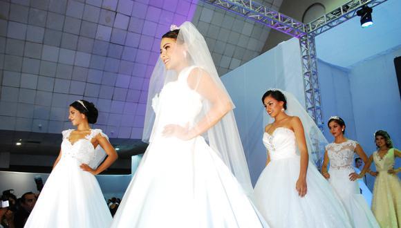 Imagen. En vestimenta y maquillaje se destina 25% del presupuesto. (Foto: Feriade Novios)