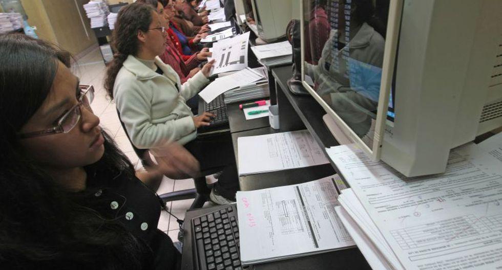 El empleo formal se incrementó en los niveles educativos más altos. (Foto: Andina)