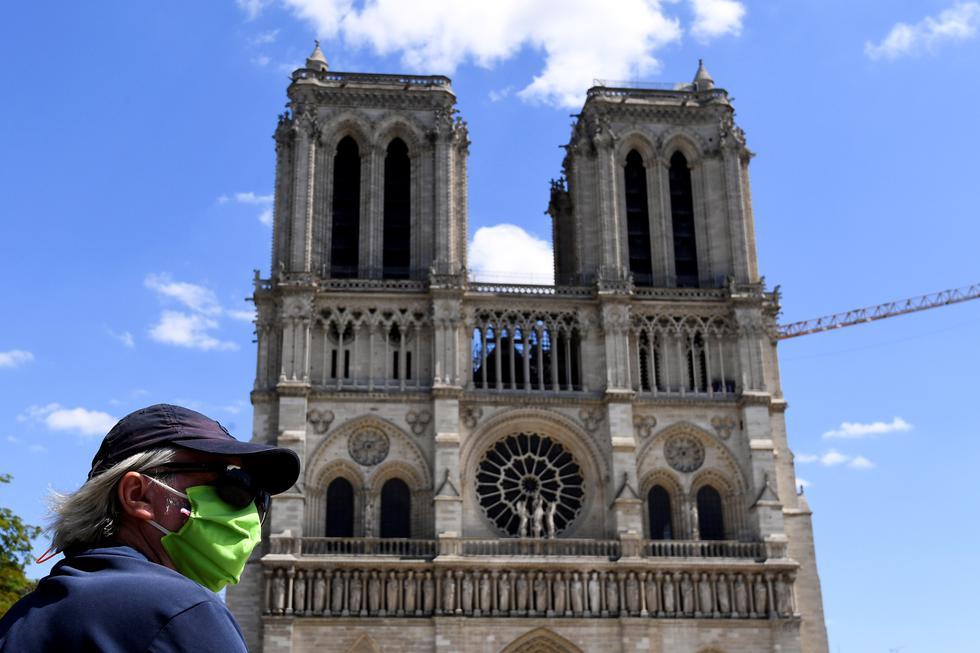 1. Concierto en la catedral de Notre Dame programado para el 24 de diciembre (París, Francia). (Foto: AFP)