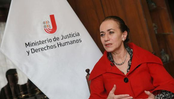 Ana Teresa Revilla afirmó que los peruanos merecen conocer la verdad sobre los hechos de corrupción cometidos por funcionarios en el caso Odebrecht. (Foto: Andina)