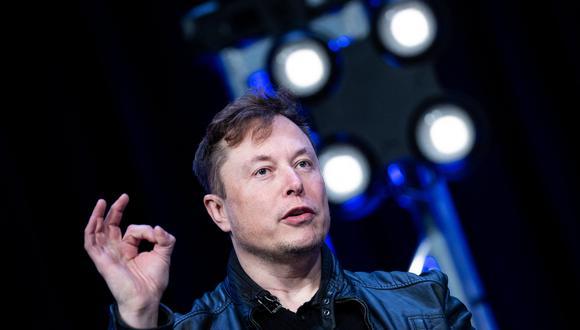Elon Musk. (Photo by Brendan Smialowski / AFP)