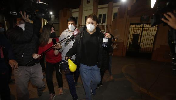 En la víspera, el Poder Judicial revocó la detención preliminar contra Cisneros, Miriam Morales y Karem Roca. (Foto: César Grados / GEC).
