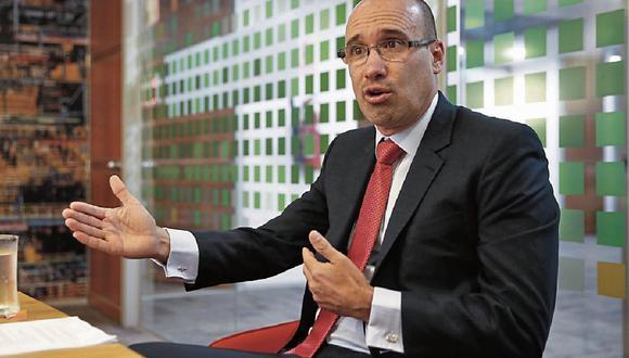 Expectativa. Luis Diaz dijo que esperan firmar el acuerdo de colaboración eficaz este trimestre; tras ello podrían emitir deuda de largo plazo. (Foto: GEC)