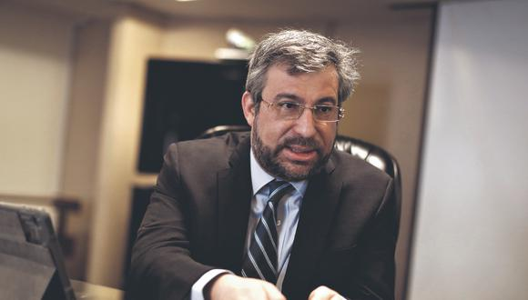 Piero Corvetto Salinas, es el nuevo jefe de la Oficina Nacional de Procesos Electorales (Foto: César Campos)
