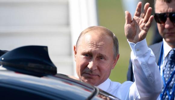 Vladimir Putin aterrizó en Helsinki a las 1:00 p.m. hora local (5:00 a.m. en Perú. (Foto: AFP)