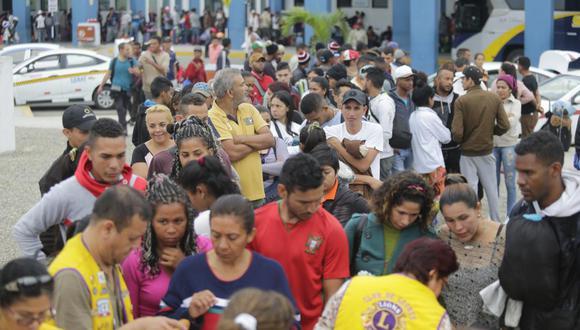 Migración venezolana. (Foto: GEC)