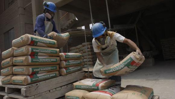 Despachos de cemento crecieron 143% en marzo. (Foto: archivo)