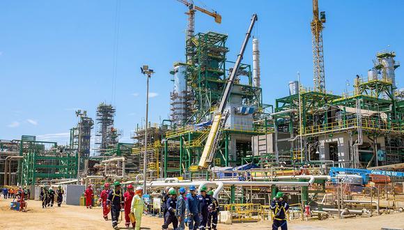 Refinería de Talara (Foto: Petroperú)