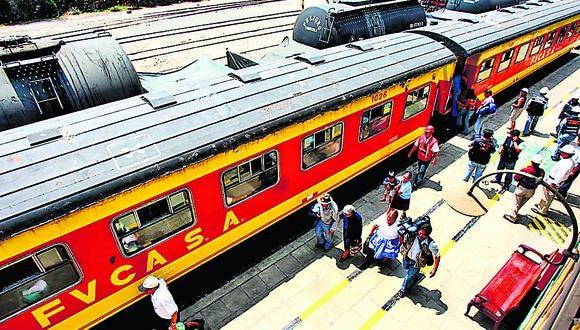 El Ferrocarril Central llevaría carga de perecibles hasta el Mercado Mayorista de Santa Anita