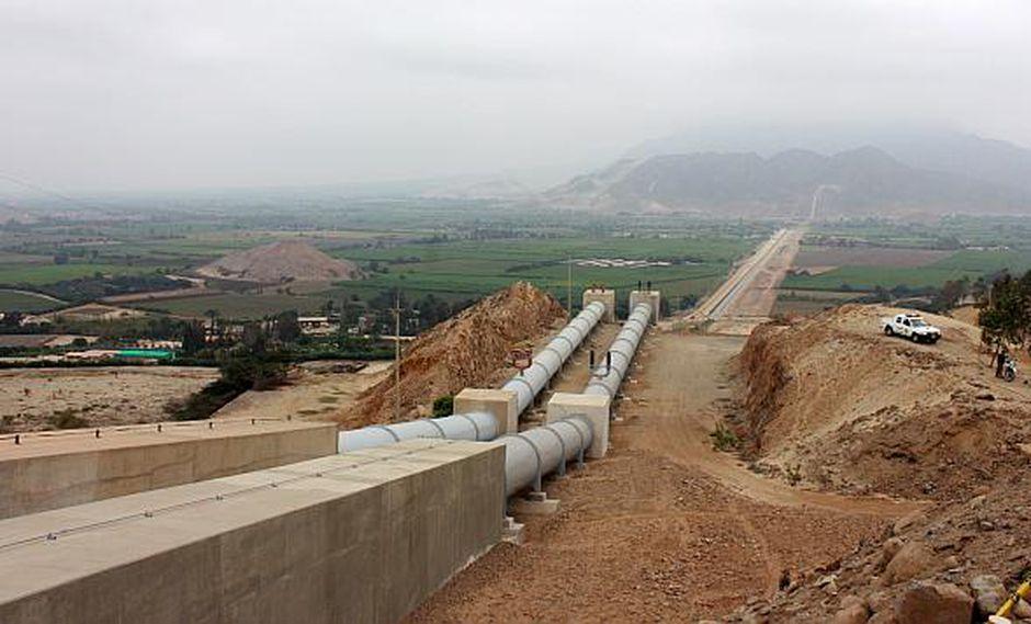 Falta culminar un 30% de lasobras de la tercera del proyecto de irrigación Chavimochic, informó el MEF. (Foto: USI)