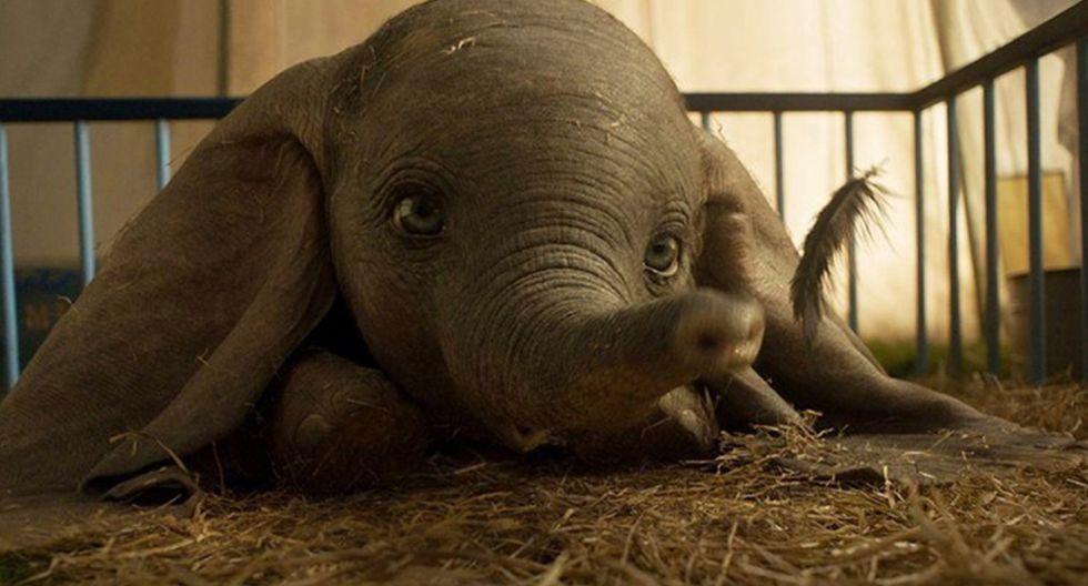 """Foto 3   En tercer lugar se ubicó el líder de la taquilla del fin de semana pasado, la versión real de Tim Burton de """"Dumbo"""", con US$ 18.2 millones. (Foto: IMDB)"""