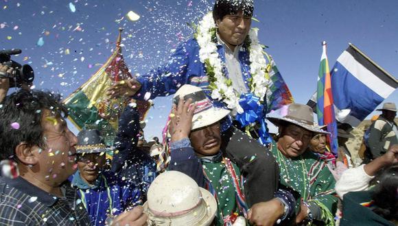 Evo Morales. (Foto de archivo: AFP).
