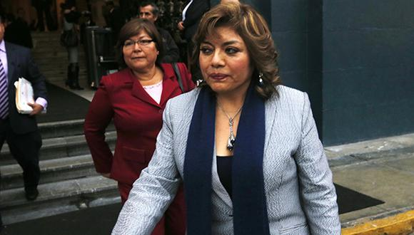 Zoraida Ávalos de 61 años, había asumido la Fiscalía de la Nación de forma interina el pasado 8 de enero. (Foto: GEC)