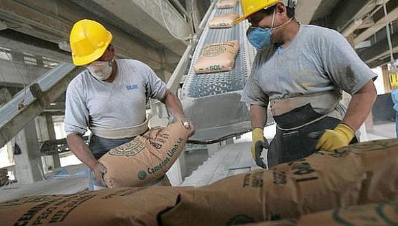 En últimos 12 meses el consumo nacional de cemento alcanzó un acumulado de 11,780 TM.