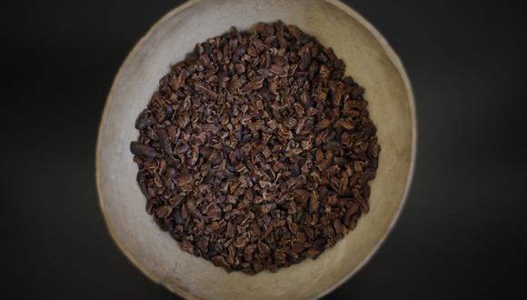 Nibs de cacao. (Foto: GEC)