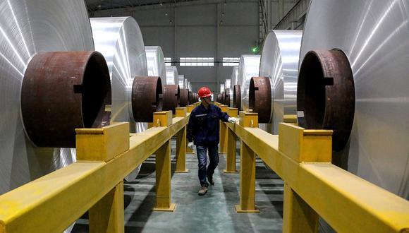 Los inventarios de aluminio en los almacenes de ShFE registraron 256,214 toneladas, su nivel más bajo desde enero. (Foto referencial: AFP)