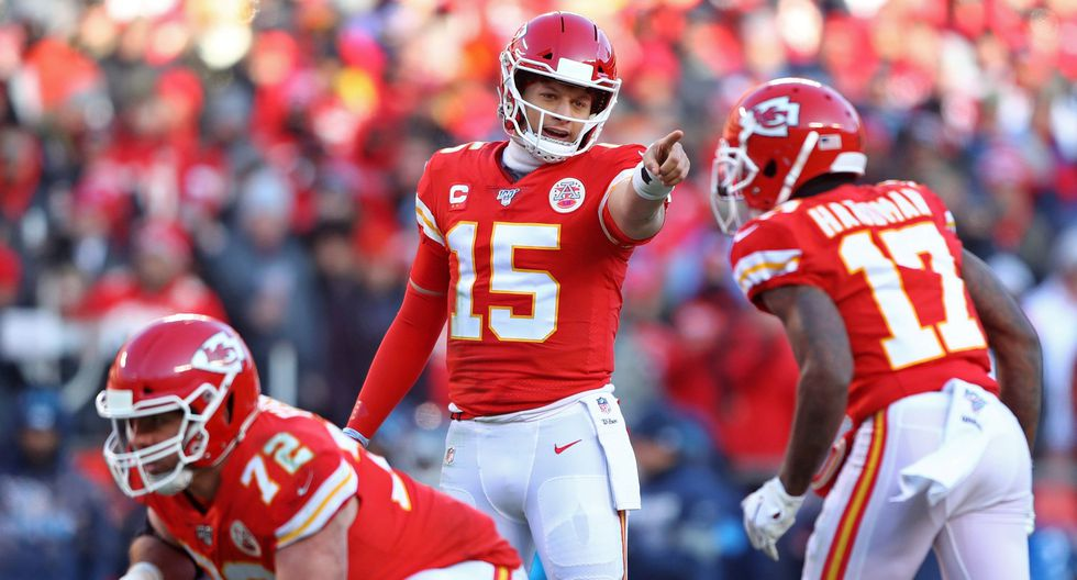 Kansas City Chiefs. Valor total aproximado del equipo: US$ 203'470,506 millones. (Foto: Reuters)