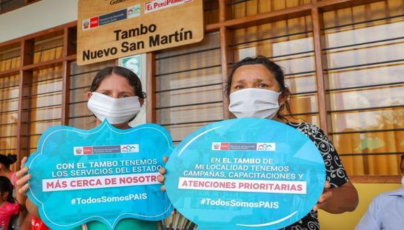 El programa Juntos fue creado hace 15 años, en setiembre del 2005, durante el gobierno de Alejandro Toledo. (Foto: Andina)