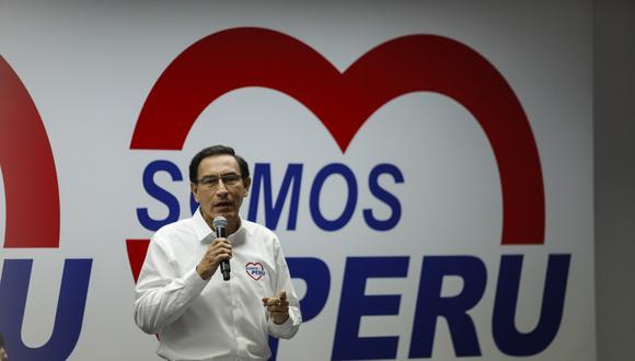 Martín Vizcarra acusó al informe de Jim Alí Mamani de tener mentiras para inhabilitarlo del proceso electoral. (Foto: Archivo GEC).