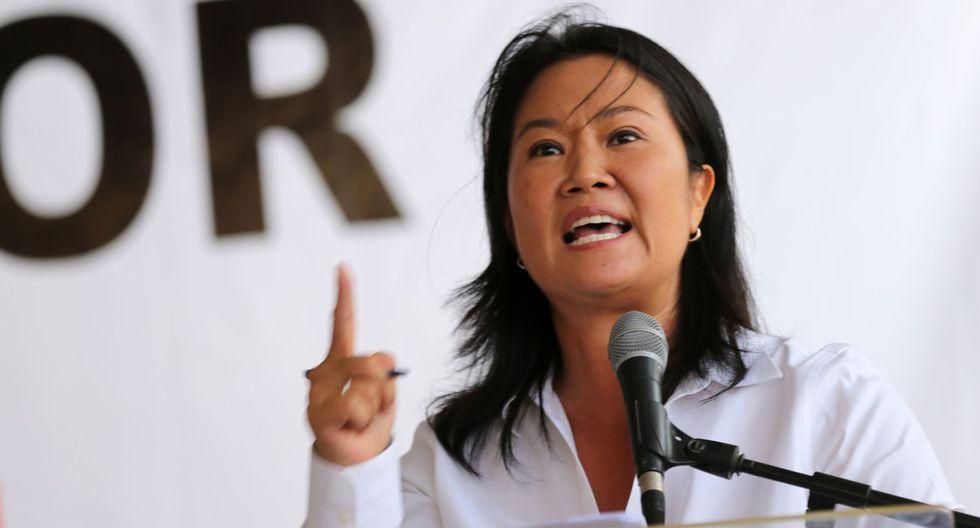Keiko Fujimori negó haber recibido dinero ilícito de Odebrecht a sus campañas.  (Foto: Andina)