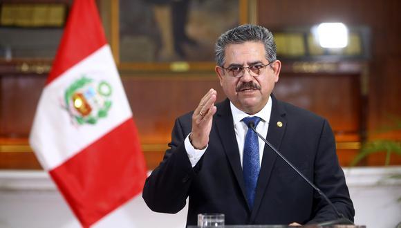 Fiscalía declaró compleja la investigación que incluye al congresista Manuel Merino de Lama.  (Foto: Renzo Salazar / GEC)