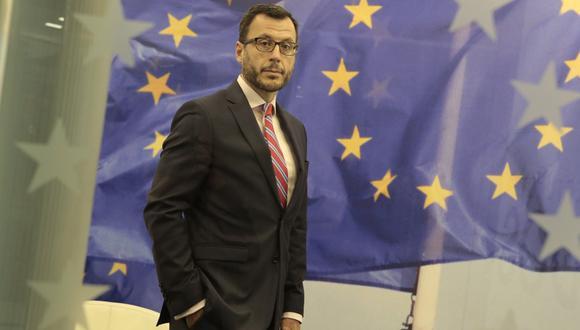 Diego Mellado, embajador de la UE en el Perú. (Foto: Diana Chávez)
