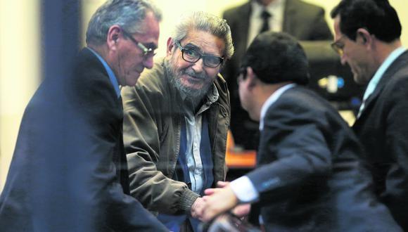 Abimael Guzmán murió en su celda de la Base Naval, donde cumplía cadena perpetua. EFE/ERNESTO ARIAS