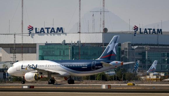 Latam Airlines. (Foto: AFP)