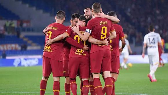 Jugadores de AS Roma. (Foto: AS Roma)