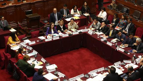 Comisión de Constitución recibirá este martes 16 al ministro de Justicia, Vicente Zeballos, para sustentar proyecto sobre inmunidad parlamentaria. (Foto: GEC)