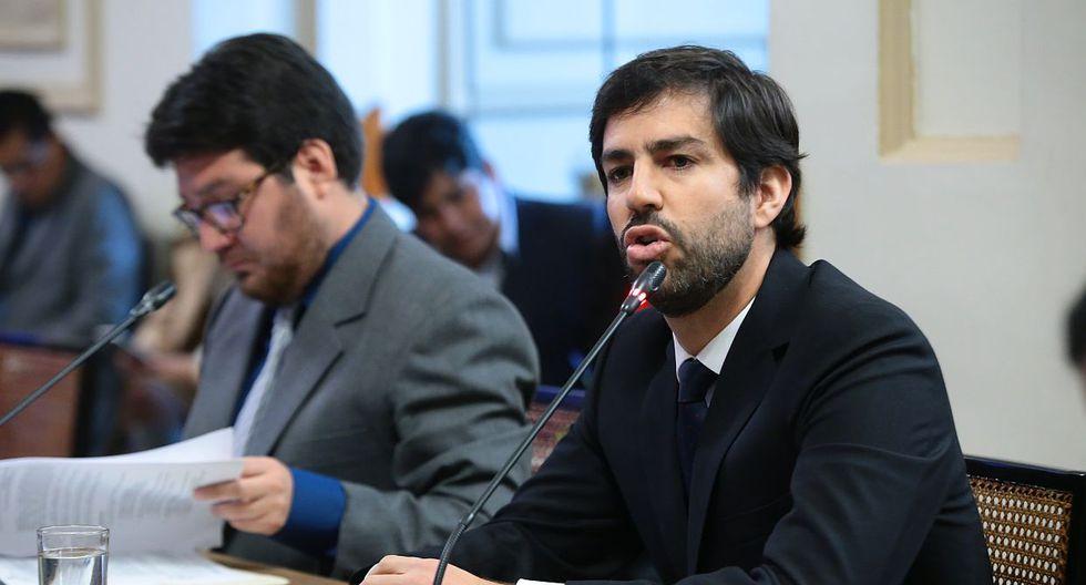 El ex regidor de la gestión de Susana Villarán, Augusto Rey, asegura que no le teme a la investigación. (Foto: Congreso)