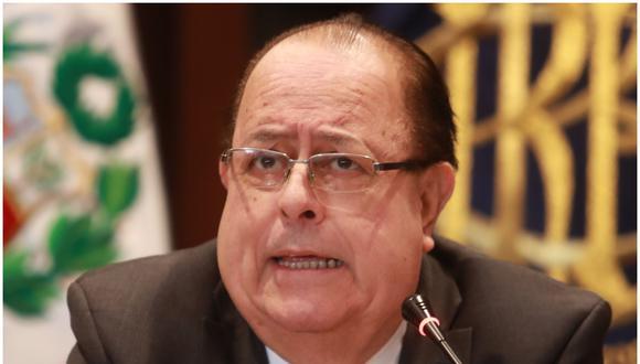 Julio Velarde. (Foto: GEC)