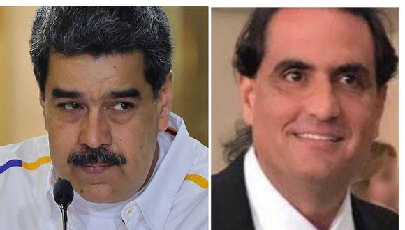 Nicolás Maduro y Alex Saab. (Foto: Difusión)