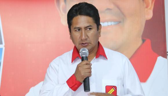 Vladimir Cerrón es el actual secretario general de Perú Libre. (Foto: Archivo/ GEC)
