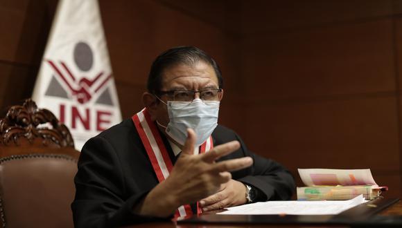 Jorge Luis Salas Arenas también cuestionó que personas no identificadas hayan acudido a los exteriores de su vivienda por tercera vez para exigir celeridad en el conteo de votos y resolución de impugnaciones de la segunda vuelta. (Foto: Archivo/ GEC)