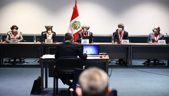 La JNJ está realizando el concurso público para elegir a los nuevos jefes de la ONPE y Reniec. Los resultados finales se conocerán el 29 de agosto. (Foto: Hugo Curotto / GEC)