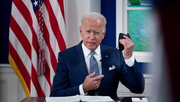 """Durante su discurso ante la Asamblea General de la ONU el martes, Biden ya adelantó que Estados Unidos planeaba invertir un total de US$ 10,000 millones para """"acabar con el hambre e invertir en sistemas alimentarios"""" tanto en su país como en el resto del mundo. (Foto: Brendan Smialowski / AFP)."""