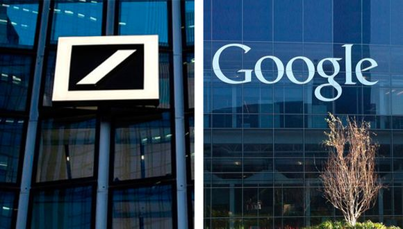 Deutsche Bank y Google.