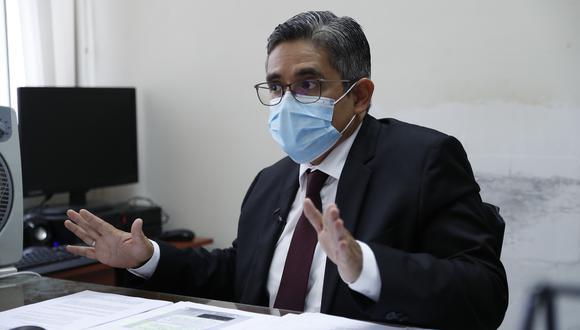 Al fiscal José Domingo Pérez se le acusa de presuntas infracciones en el ejercicio de sus funciones. (Foto: Hugo Pérez/GEC).