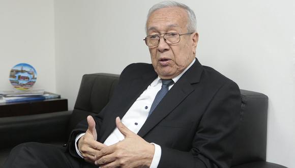 director ejecutivo de la Agencias Peruana de Cooperación Internacional (APCI), José Antonio González Norris,