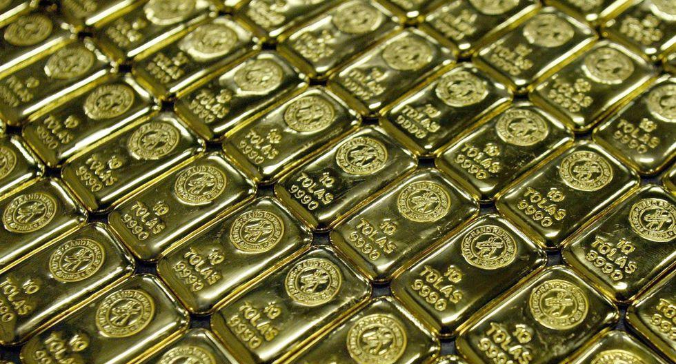 Los futuros del oro en Estados Unidos ganaban un 0.5%. (Foto: Reuters)