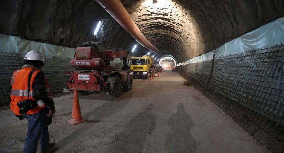 Foto 19   Consorcio Nuevo Metro de Lima, en la construcción de la Línea 2 Metro de Lima. (Foto: USI)