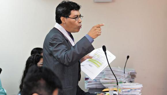 El fiscal Germán Juárez subsanó la acusación contra Ollanta Humala y Nadine Heredia. (Foto: Juan Ponce/Archivo El Comercio)