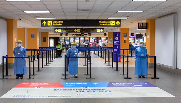 El Ejecutivo limitó el tránsito aéreo desde Brasil. (Foto: GEC)