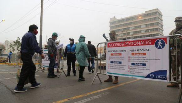 La Municipalidad Metropolitana de Lima (MML) habilitó nuevos accesos para peatones y vehículos en el Mercado Central, Mesa Redonda y en el Triángulo de Grau. (Foto: Municipalidad de Lima)