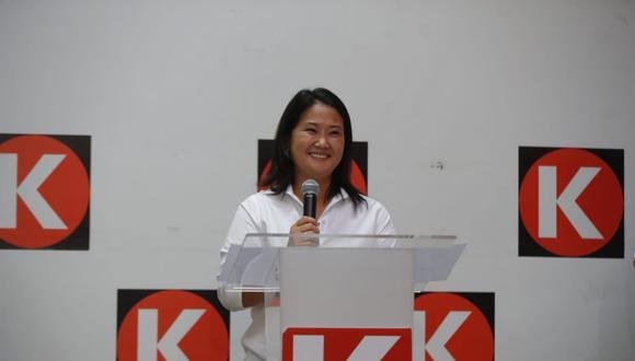 Según el fiscal José Domingo Pérez, le preocupa que una investigada por delitos graves, como Keiko Fujimori, llegue a la Presidencia. (Foto: Giancarlo Avila /@photo.gec)
