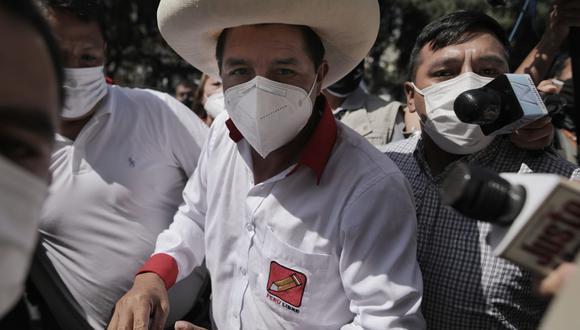 Pedro Castillo fue trasladado de urgencia a una clínica de la ciudad de Lima tras sufrir una descompensación respiratoria. (Foto: GEC)