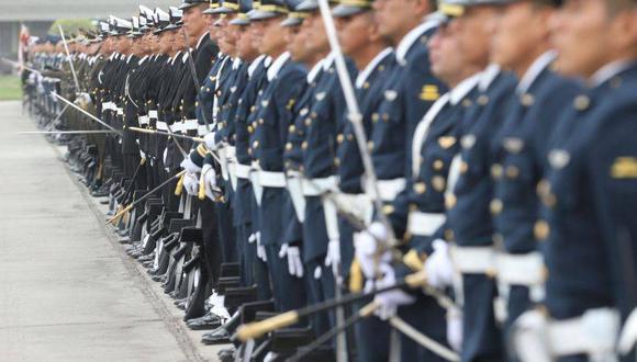 Se dio a conocer la relación de ascensos en los tres institutos castrenses de las Fuerzas Armadas. (Foto: Andina)